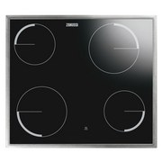 Zanussi Glaskeramikkochfeld Zev6040xba - Edelstahlfarben/Schwarz, Glas/Metall (57,6/3,8/50,6cm) - ZANUSSI