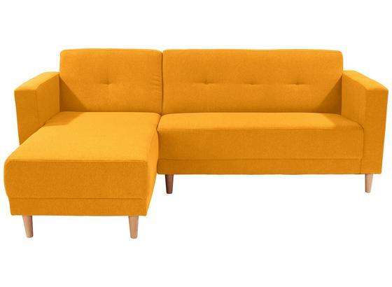 Sedací Souprava Geneve - žlutá, Moderní, textil (144/217cm)