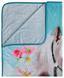 Kuscheldecke Design: Pferd - Blau, MODERN, Textil (130/160cm)