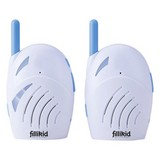 Babyphone D300 - Blau/Weiß, MODERN, Kunststoff (6/8,5/2,8cm) - Fillikid