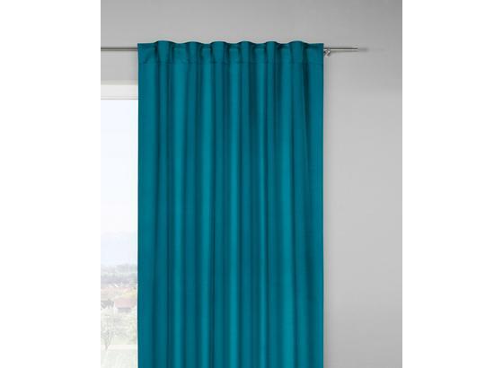 Zatemňovací Závěs Riccardo - petrolej, Moderní, textil (140/245cm) - Premium Living