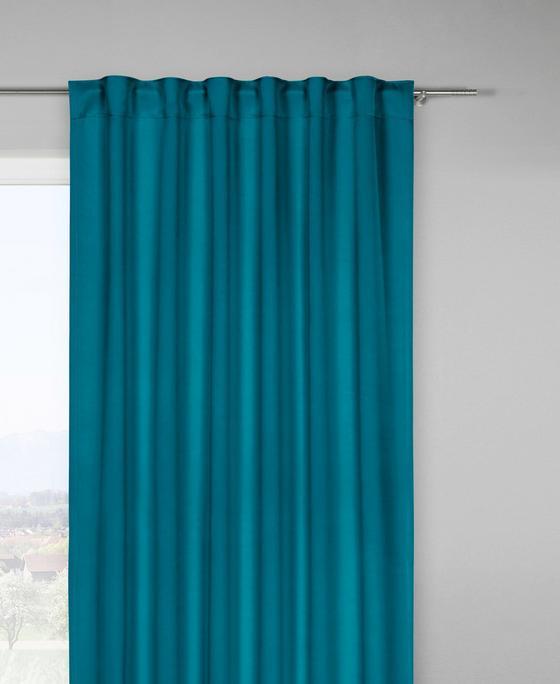 Zatemňovací Záves Riccardo - petrolejová, Moderný, textil (140/245cm) - Premium Living