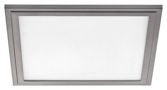 LED-Deckenleuchte Salobrena 2 - Weiß/Grau, MODERN, Kunststoff/Metall (30/30/1,1cm)