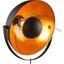Stehleuchte H:179 cm - Goldfarben/Schwarz, KONVENTIONELL, Metall (69/179cm)