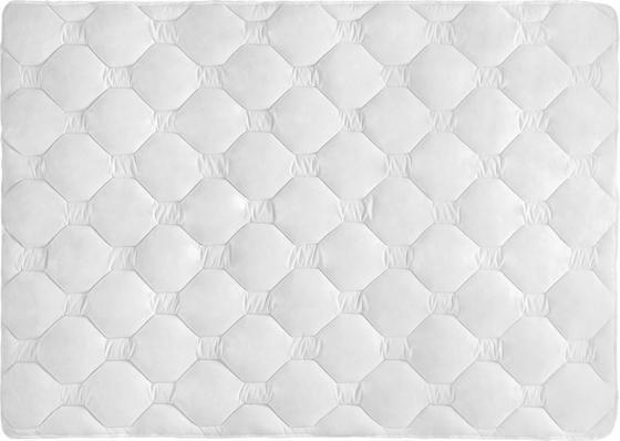 Prošívaná Přikrývka Aloe Vera - bílá, textilie (140/200cm) - Nadana
