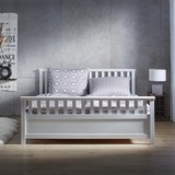 Posteľ Pina - biela, Konvenčný, drevo (211/191/64cm) - MÖMAX modern living