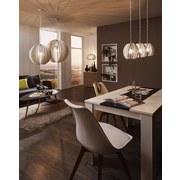 Hängeleuchte Cossano H: 150 cm 1-Flammig, Echtholz/Metall - Weiß, MODERN, Holz/Metall (50/150cm)