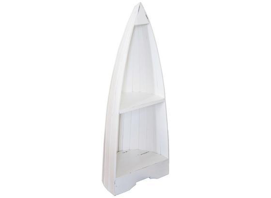 Standregal Sea 38,5 cm Weiß - Weiß, KONVENTIONELL, Holz (38,5/100/31cm)