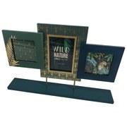 Bilderrahmen Wild Nature - Smaragdgrün/Goldfarben, Basics, Holzwerkstoff (45/29/7cm) - Luca Bessoni