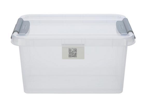 Uskladňovací Box Chaos - transparentné, Moderný, plast (51/39/25,8cm)