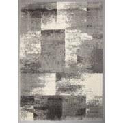 Hochflorteppich Quadrat, 160/230 - Weiß/Grau, MODERN, Textil (160ml)