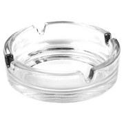 Aschenbecher Roman - Klar, KONVENTIONELL, Glas (10.5cm)
