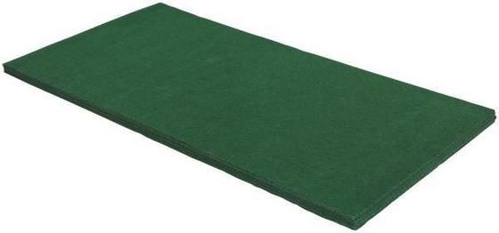 Läufer Hockey 100x200cm - Grün, KONVENTIONELL, Textil (100/200cm)