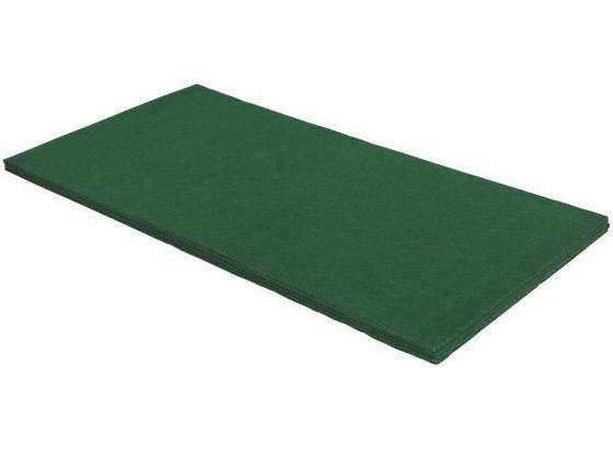Teppich Hockey 100x200 cm - Grün, KONVENTIONELL, Textil (100/200cm) - Homezone