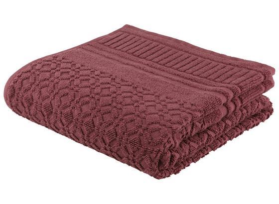 Ručník Carina -top- - fialová, Romantický / Rustikální, textil (50/100cm) - Mömax modern living