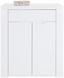 Kommode Bree B:85cm Weiß Hochglanz - Weiß, MODERN, Holzwerkstoff (85/100/38cm)