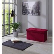 Sitzbank Velvet B: 70 cm Rose - Rosa, MODERN, Holzwerkstoff/Textil (70/38/38cm)
