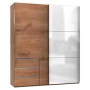 Skříň S Posuvnými Dveřmi Level 36 C - bílá/barvy dubu, Konvenční, dřevěný materiál (200/236/65cm)