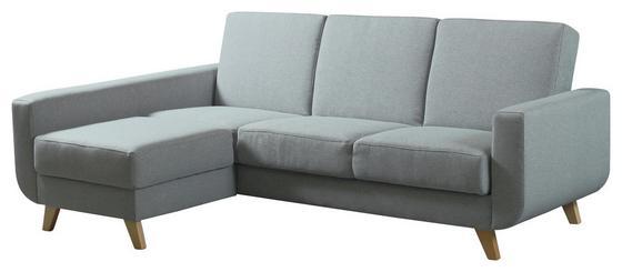 Sedací Souprava Aramis - šedá/modrá, Moderní, textil (150/90/228cm)