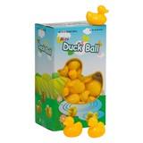 Bällebad Enten Inhalt: 50 Stück - Gelb, Kunststoff