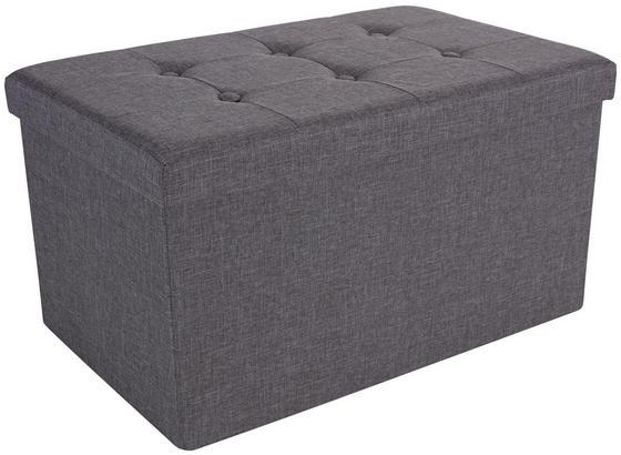Sedací Lavice Franz 2 - šedá, Moderní, dřevo/textil (70/38/38cm)