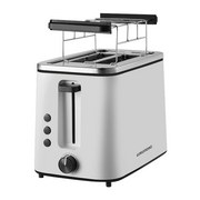 Toaster Ta 5860 - Schwarz/Weiß, MODERN, Kunststoff/Metall (29/17,5/28cm) - Grundig
