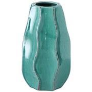 Vase Hilary - Türkis, Basics, Keramik (8/19cm)