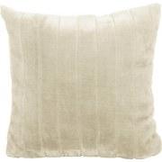Zierkissen Emma 45x45 cm - Beige, KONVENTIONELL, Textil (45/45cm) - Ombra