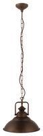 Hängeleuchte Stanmore - Bronzefarben, MODERN, Metall (35/110cm)