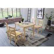 Tischgruppe Emil - Kieferfarben, Basics, Holz (108/65/73cm) - MID.YOU