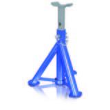 Unterstellbock 2 Stück, 3 Tonnen - Blau/Grau, Metall (14,4/12/30cm)