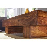 Couchtisch Sira L: ca. 120 cm - Sheeshamfarben, Design, Holz (120/45/30cm) - Livetastic