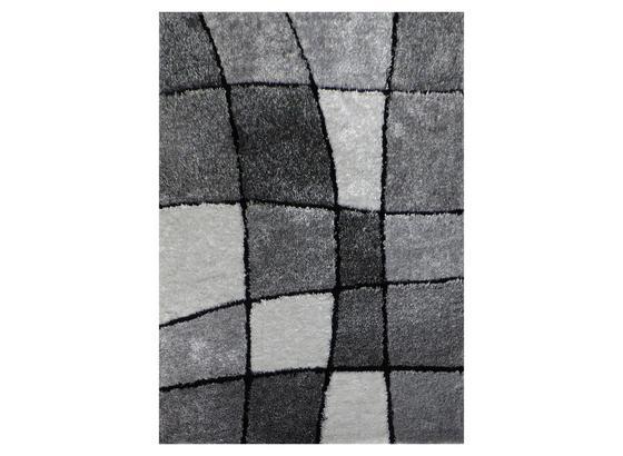 Koberec S Vysokým Vlasem Fancy 3 - šedá/bílá, Konvenční, textil (120/170cm) - Mömax modern living