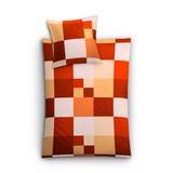 Makosatin Bettwäsche Sao Paulo - Rot, MODERN, Textil - Kleine Wolke