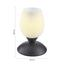 Stolní Lampa Cup 10/18cm, 40 Watt - bílá/rezavá, Lifestyle, kov/sklo (10/18cm) - Mömax modern living