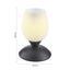Stolová Lampa Cup 10/18cm, 40 Watt - biela/hrdzavá, Štýlový, kov/sklo (10/18cm) - Mömax modern living