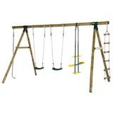 Schaukel Plum Orang-utan - Ahornfarben, MODERN, Holz (400/220/220cm)