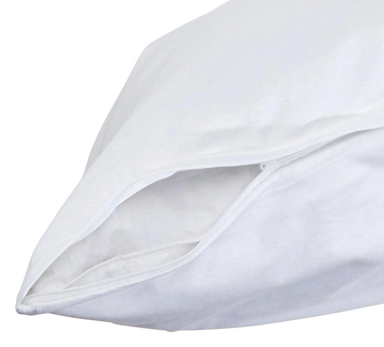 Párnahuzat Antoinette - fehér, konvencionális, textil (70/90cm) - OMBRA
