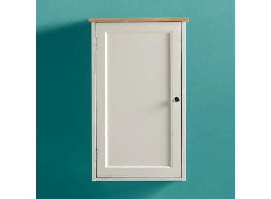 Horní Skříňka Jule - bílá, Moderní, kov/dřevo (38/61,5/17,5cm) - Modern Living