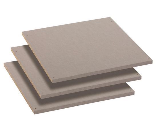 Einlegeboden Pack's - Grau (43/1.6/45cm)