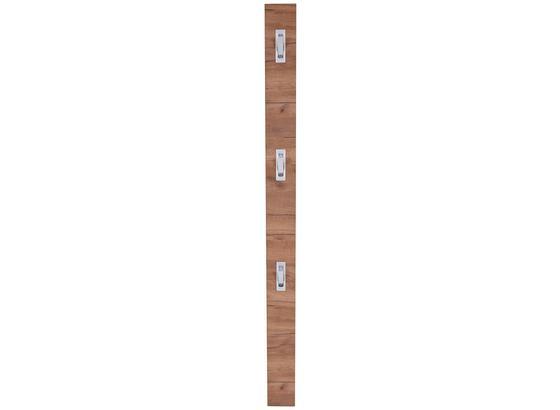 Šatní Lišta Enzo - barvy dubu, Moderní, kompozitní dřevo (12/175/2,8cm)