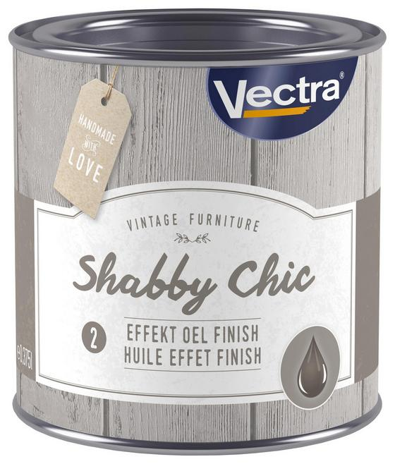 Effektöl Shabby Chic Finish Öl - Transparent (0,375l)