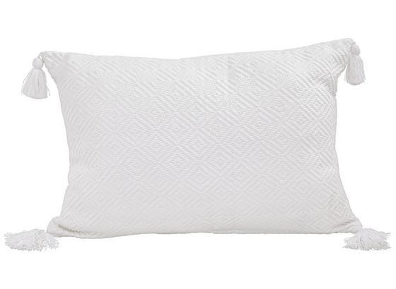 Polštář Ozdobný Frieda - bílá, Moderní, textil (40/60cm) - Mömax modern living