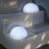 Svítidlo Solární Bowle - bílá, umělá hmota (20cm) - MÖMAX modern living