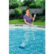 Poolsauger Flowclear Aqua Powercell Vac 264x23cm 58427 - Blau/Weiß, MODERN, Kunststoff/Metall (23/264cm) - Bestway