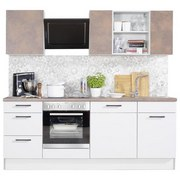 Küchenblock Pn280/pn310 - Design, Holzwerkstoff (220cm) - Pino