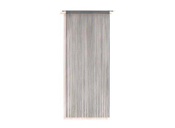 Fadenstore Marietta - Silberfarben, KONVENTIONELL, Textil (90/245cm) - Ombra