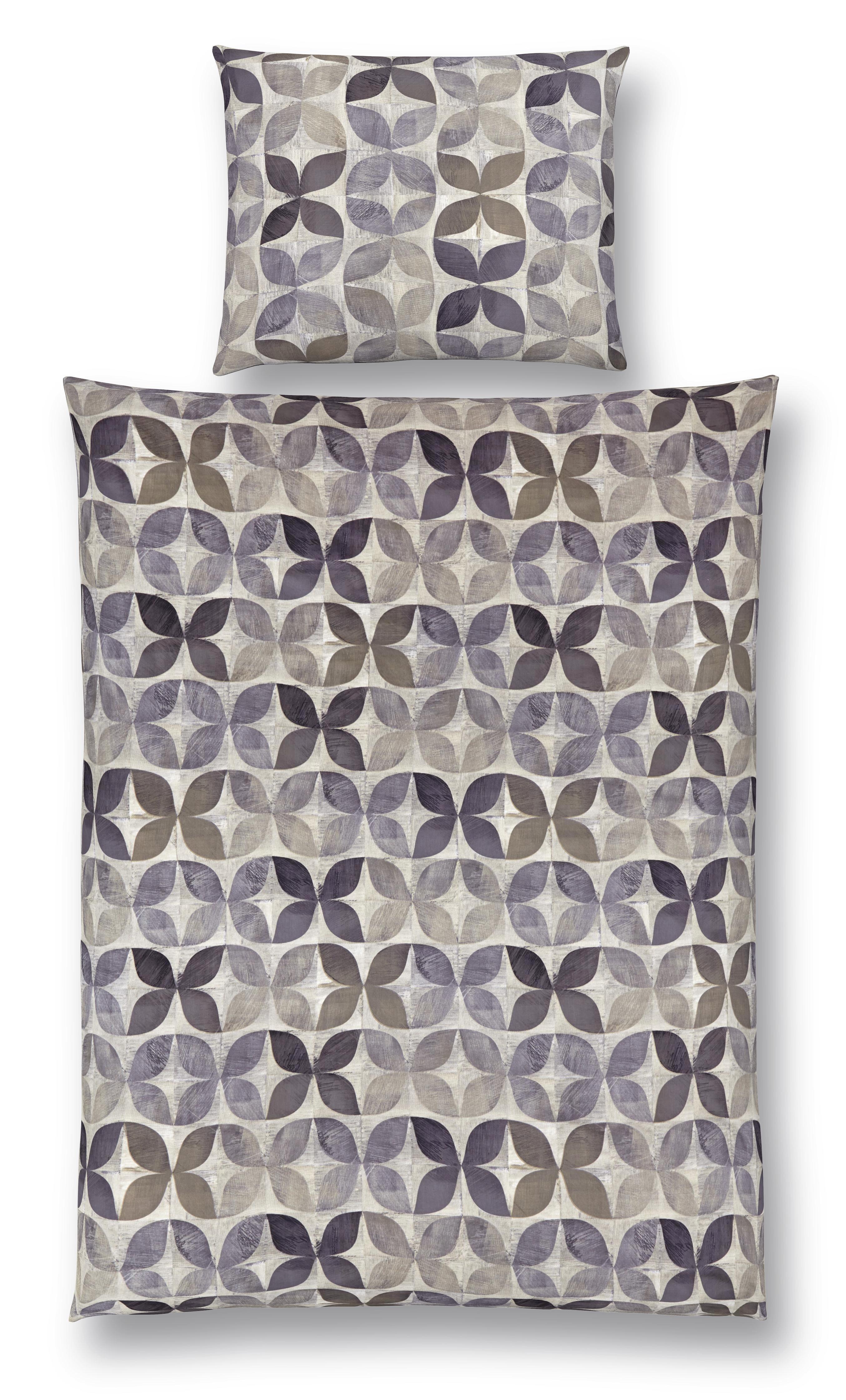 Ágyneműhuzat-garnitúra Alexa - szürke, modern, textil - LUCA BESSONI