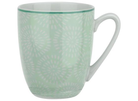 Hrnček Na Kávu Nina Z Porcelánu Cca. 340 Ml - mätovozelená, keramika (8,5/10cm) - Mömax modern living