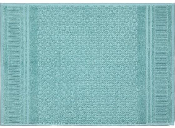 Předložka Koupelnová Carina - zelená, Romantický / Rustikální, textil (50/70cm) - Mömax modern living